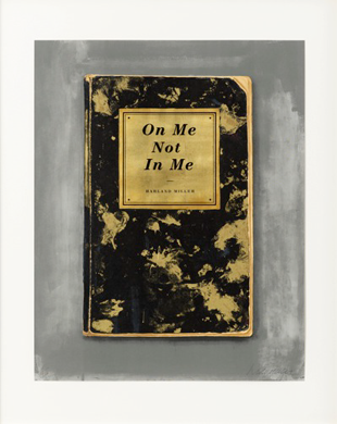 On Me Not in Me - Harland Miller