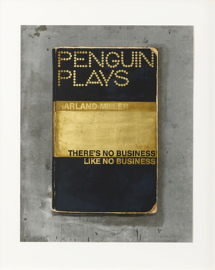There's No Business LIke No Business - Harland Miller