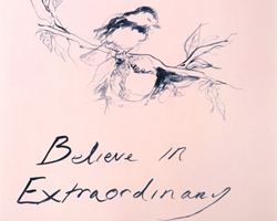 Tracey Emin Believe In Extraordinary