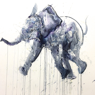 Young Elephant I - Dave White