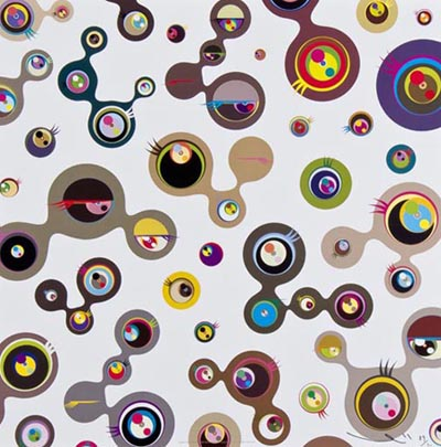 Jellyfish Eyes White 4 - Takashi Murakami