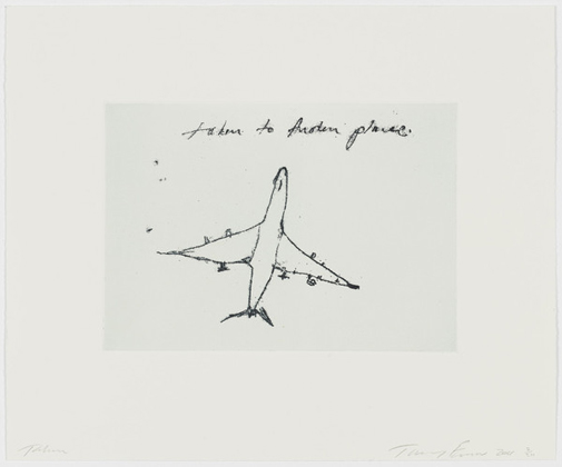 Taken to another place (2011) - Tracey Emin