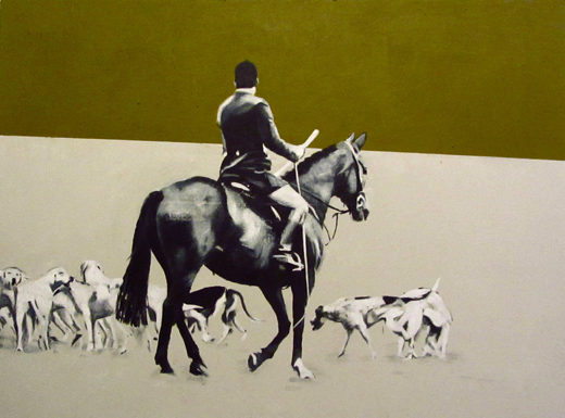 Horse and Hounds - Lara Carew-Jones
