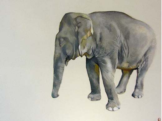 Elephant II - Lara Carew-Jones