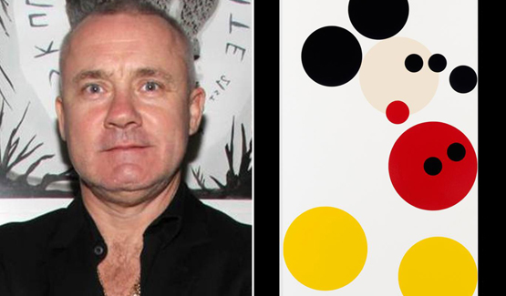 Permalink to Hirst's Mickey soars again