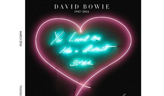 Permalink to Tracey Emin Remembers David Bowies Harper's Bazaar