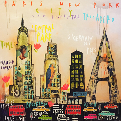 Paris New York - Corinne Dalle-Ore