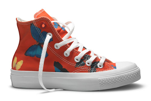 Damien Hirst X Converse Sneakers Theartgorgeous