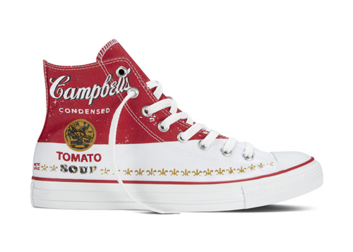 Andy Warhol X Converse Sneakers Theartgorgeous