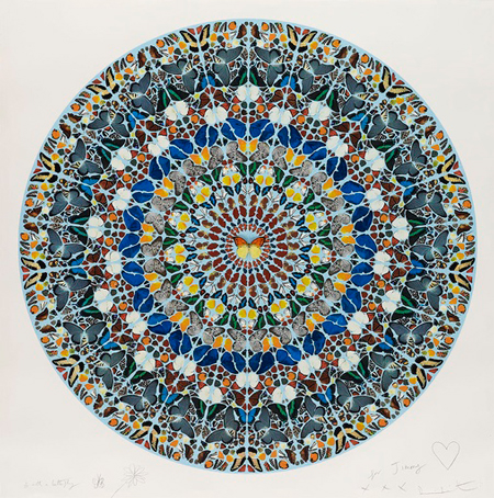 Damien Hirst Peace One Day
