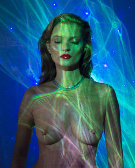 Chris Levine Kate Moss She S Lightlaser 3 Lenticular Lightbox 2013