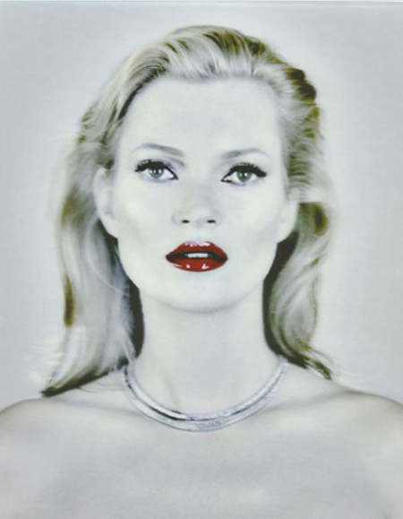 Chris Levine Kate Moss She S Light Pure 2013