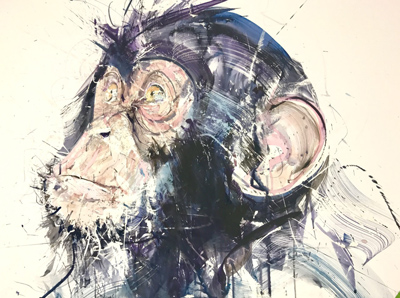 Chimp I - Dave White