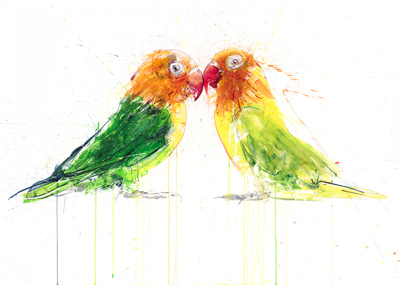 Lovebirds - Dave White