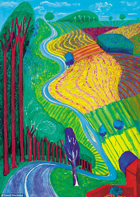 3Cc4cf6100000578 4183722 Looking Askew At The World Is Key To Hockney S Unapologetically A 6 1486142240641