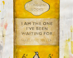 Harland Miller I Am The One Yellow
