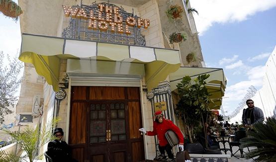 Permalink to Banksy's Walled Off Hotel