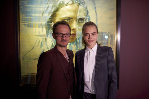 Cara Delevingne At Jonathan Yeo Portraits Exhibition Opening In Hillerod Denmark 03 19 2016 10