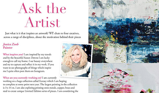 Permalink to Jessica Zoob in The Wealden Times