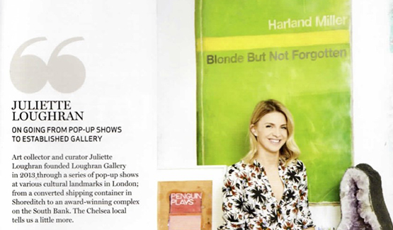 Permalink to Sloane Square Magazine interview Juliette