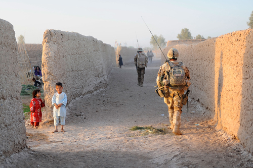 On Foot In Helmand