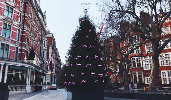 Tracey Emin's Christmas Tree