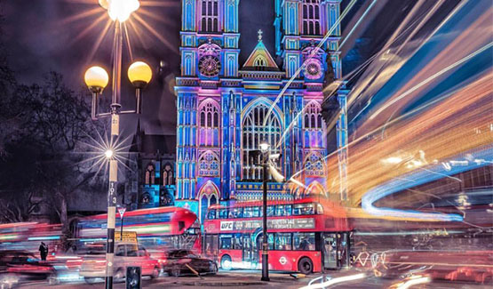 Lumiere Festival Lights up London
