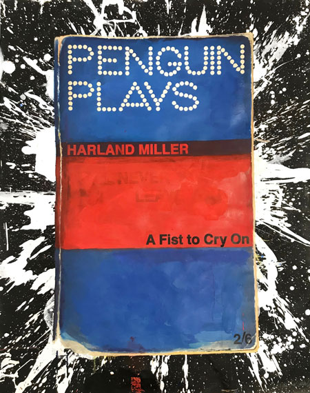 Harland Miller At Type A Fist To Cry On