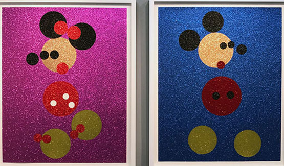 Hirst's Disney Duo Soar At Auction