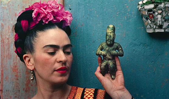 Permalink to Frida Kahlo; Making Herself Up