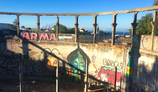 Valparaíso: a painted city