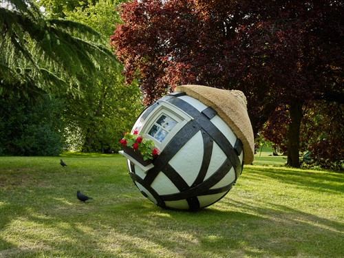 Lars Fisk Tudor Ball 2019 Marlborough Frieze Sculpture 2019