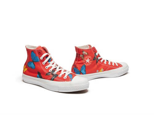 Damien Hirst X Converse Product Red