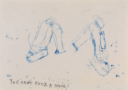 You Can't Fuck A Shoe - Tracey Emin