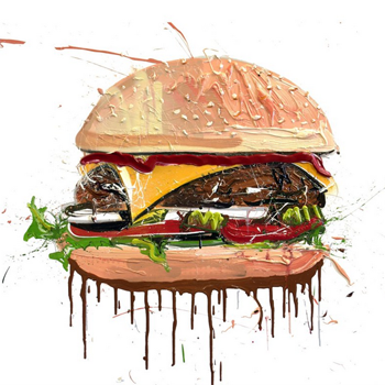 Cheeseburger - Dave White