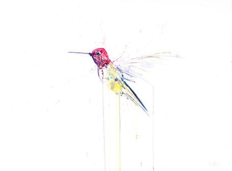 Humming Bird VIII - Dave White