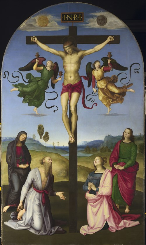 Raphael The Mond Crucifixion