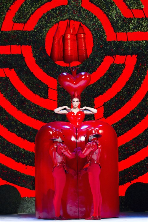 Alice In Wonderland The Royal Ballet Zenaida Yanowsky Roh Johan Persson 2011 Costumes By Bob Crowley