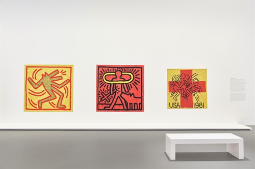 Keith Haring Jean Michel Basquiat Crossing Lines