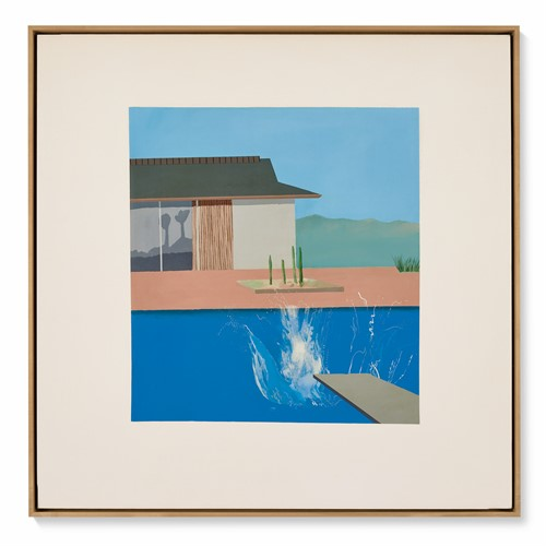David Hockney The Splash 1966 Est 20 30 Million