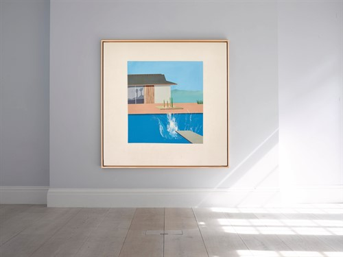 David Hockney The Splash 1966 Hi Res In Situ