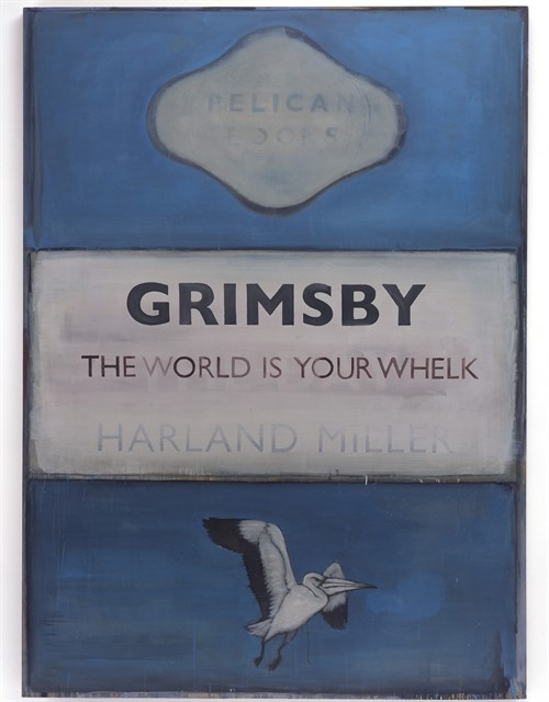 Harland Miller Grimsby The World Is Your Whelk 2006 High Res Edit