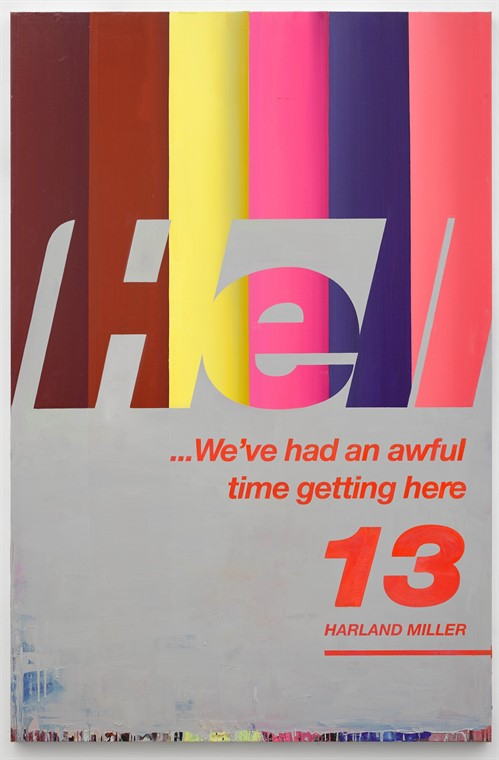 Harland Miller Hell Weve Had An Awful Time Getting Here 13 2017 High Res Edit