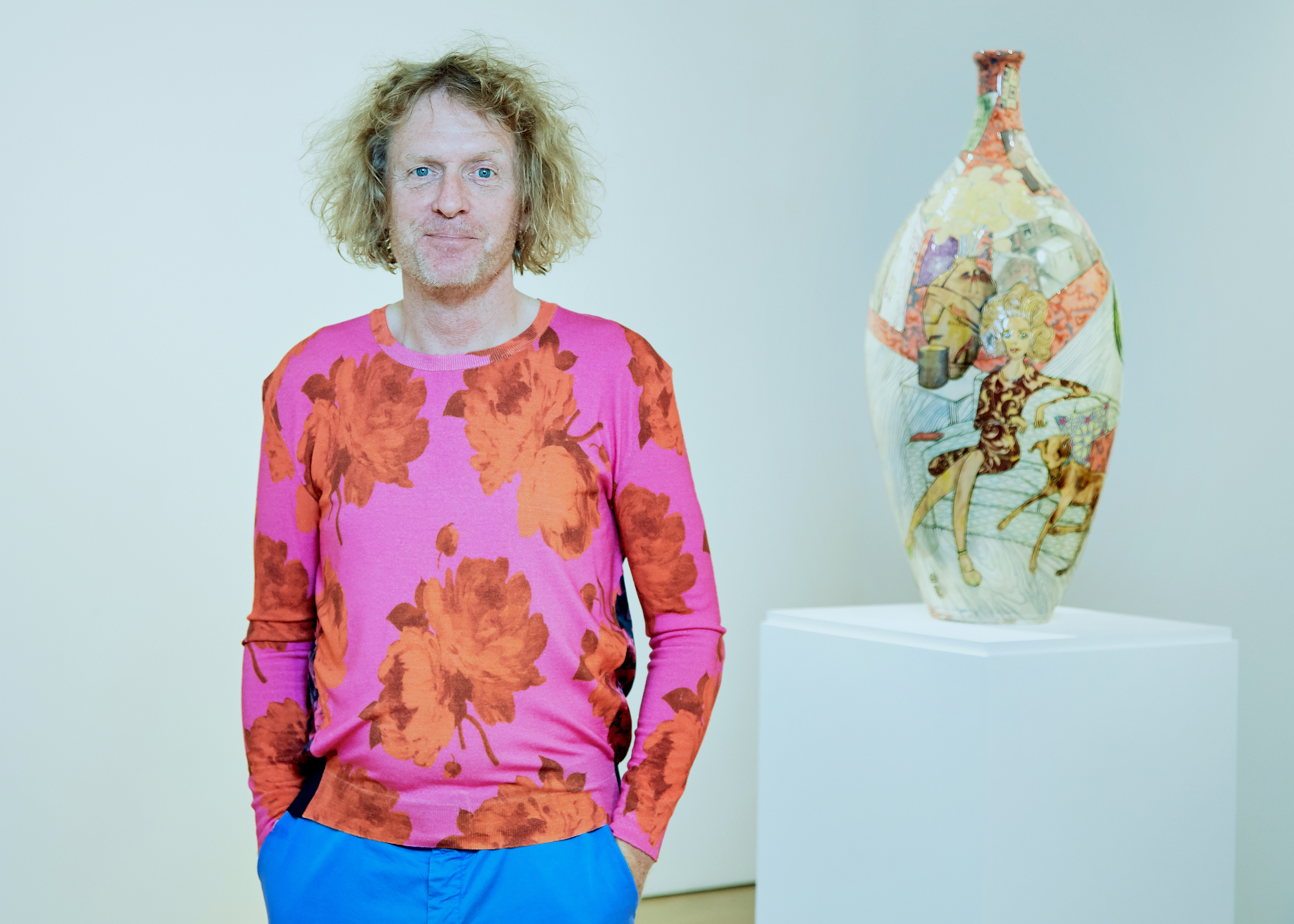 Grayson Perry wins Erasmus Prize