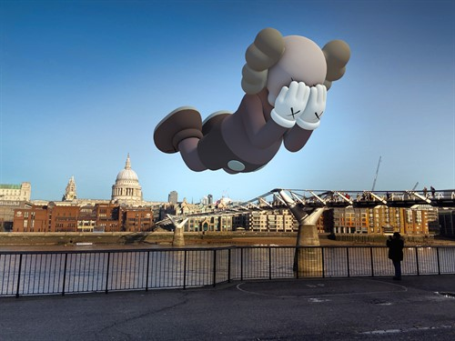 Acuteart Kaws Companionextended Exhibition Brown London 1 Web