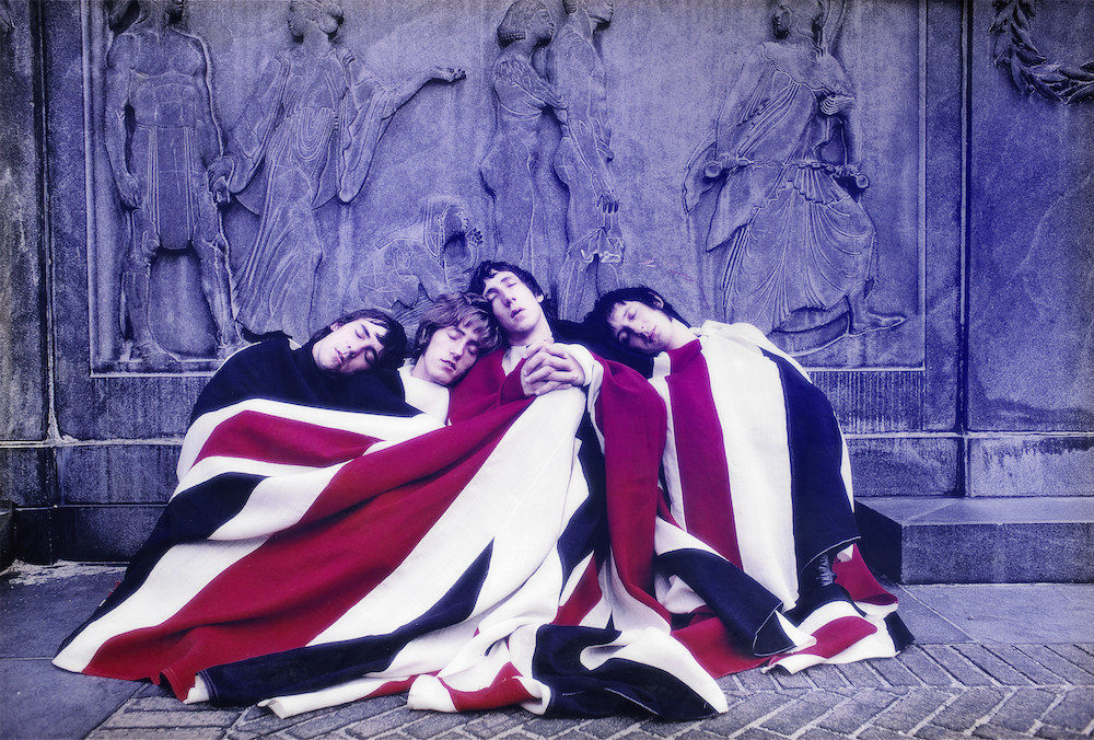 Art Kane (American, 1925-1995) The Who With Flag, 1968, printed later. Estimate £10,000-12,000