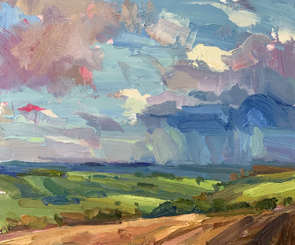 Lot 15 'Rain Cloud' by Lucy Kent