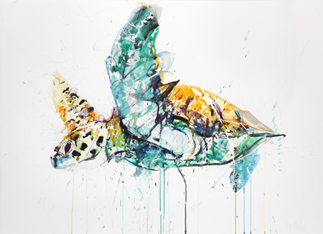 Sea Turtle II - Dave White