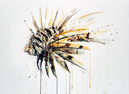Lion Fish II - Dave White
