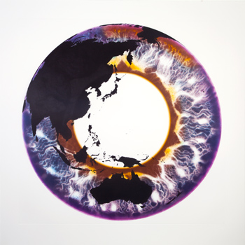 Eye of History Etching II - Marc Quinn